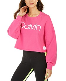 Logo Cropped Sweatshirt