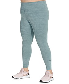 One Plus Size Training Leggings