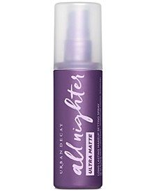 All Nighter Ultra Matte Makeup Setting Spray, 4-oz.