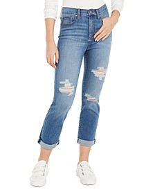 Juniors' Girlfriend Ankle Jeans