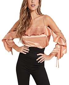 Nia Cold-Shoulder Top
