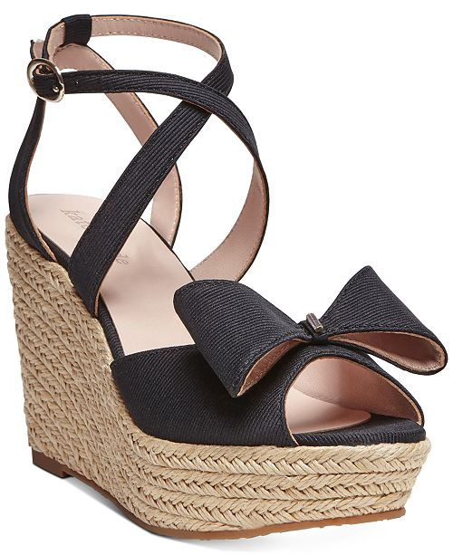 kate spade new york Thelma Wedge Sandals