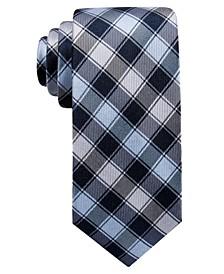 Men's Legien Slim Check Silk Tie, Created for Macy's