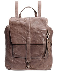 Rubie Small Leather Backpack