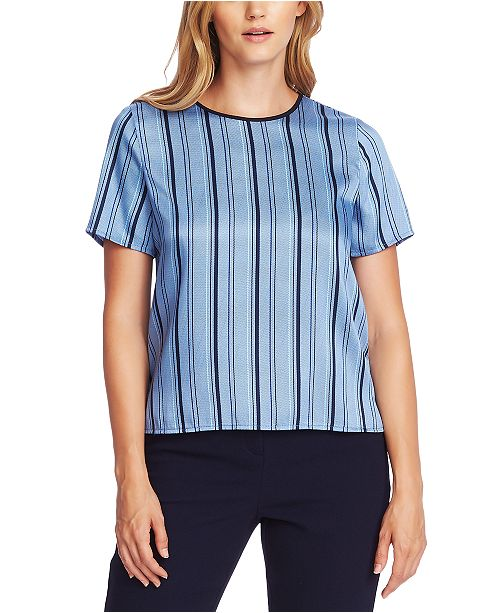 Vince Camuto Stripey Interludes Blouse