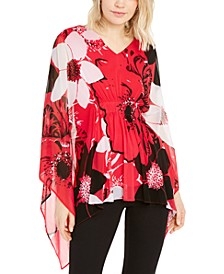 Printed Kimono-Sleeve Top, Created For Macy's