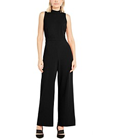 Mock-Neck Jumpsuit, Created For Macy's