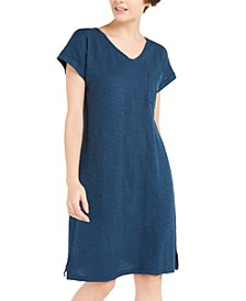 Organic V-Neck Dress, Created For Macy's