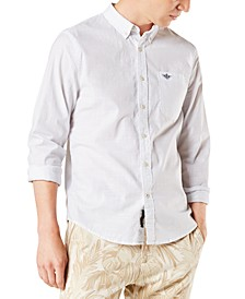 Men's Slim-Fit Alpha Icon Shirt