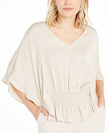 Batwing-Sleeve Top, Created For Macy's