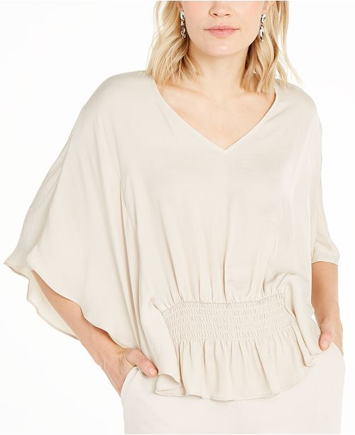 Alfani Batwing-Sleeve Top, Created for Macy's