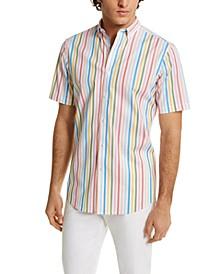 Men's Stripe Shirt, Created for Macy's