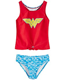 Little Girls Wonder Woman Tankini