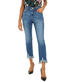 INC Frayed Skinny Jeans, Created for Macy's