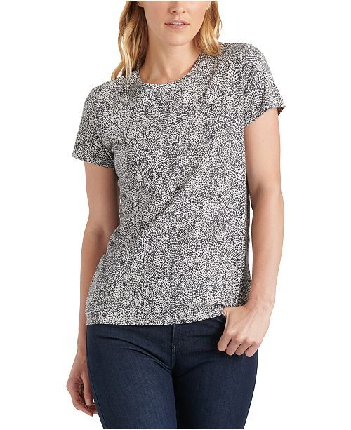 Lucky Brand Cotton Printed T-Shirt