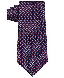 Men's Small Parrot Silk Tie