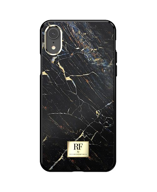 Richmond&Finch Black Marble Case for iPhone XR