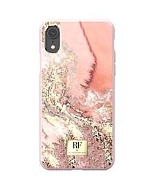 Pink Marble Gold Case for iPhone XR