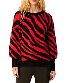 Tiger Jacquard Sweater