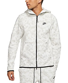 Men's Sportswear Tech Fleece Printed Zip Hoodie