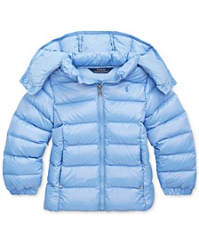 Toddler Girls Quilted Down Jacket