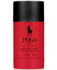 Ralph Lauren Men's Polo Red Alcohol-Free Deodorant, 2.6 oz