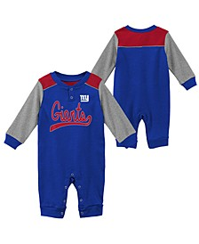 Baby New York Giants Scrimmage Coverall
