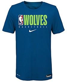 Big Boys Minnesota Timberwolves Practice T-Shirt