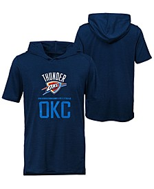 Big Boys Oklahoma City Thunder Static Performance T-Shirt