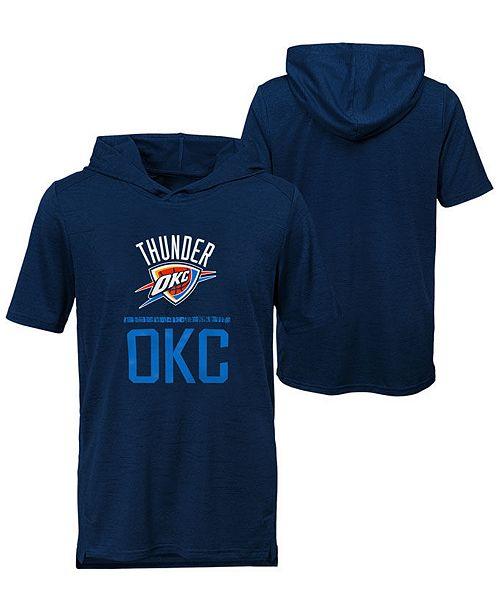 Outerstuff Big Boys Oklahoma City Thunder Static Performance T-Shirt