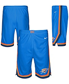Big Boys Oklahoma City Thunder Icon Swingman Shorts