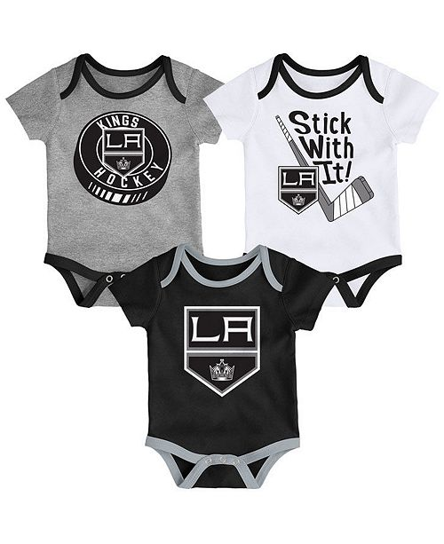 Outerstuff Baby Los Angeles Kings Cuddle & Play Creeper Set