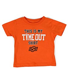 Baby Oklahoma State Cowboys On Time Out T-Shirt