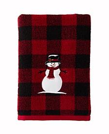 Woodland Winter Bath Towel