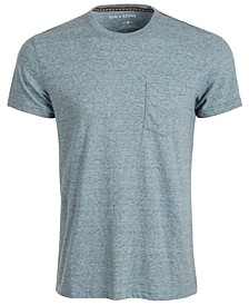 SUN + STONE Men's Devin Contrast Chain Stitch T-Shirt, Created For Macy's