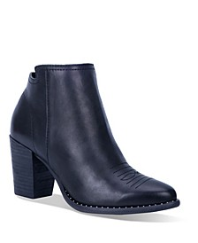 Women's Call Back Leather Bootie