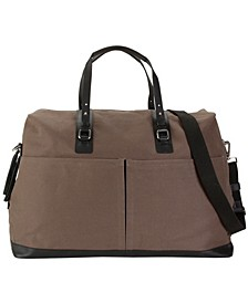 Canvas and Genuine Leather Weekender
