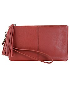 Genuine Leather Essential Wristlet