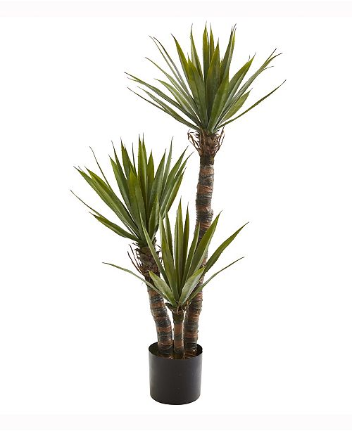 Nearly Natural 4ft. Yucca Artificial Tree