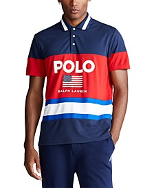 Men's Custom Slim Fit Performance Piqué Polo Shirt