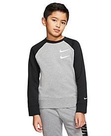 Big Boys Sportswear Swoosh Crew Sweatshirt