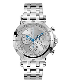 Gc Men's Insider Chrono Stainless Steel Bracelet Watch 44mm
