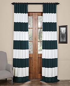 Horizontal Stripe Curtain Panel