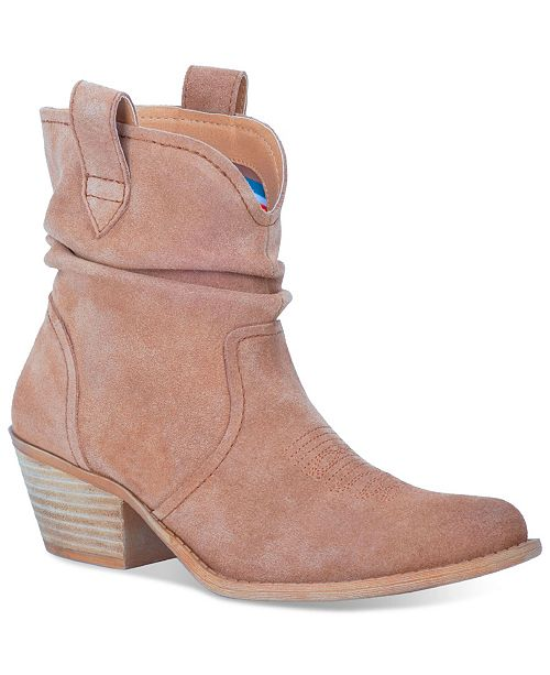 Dingo Women's Jackpot Leather Bootie