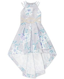 Big Girls Floral High-Low Dress