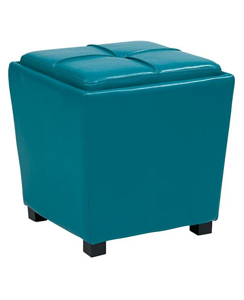 Office Star Metro 2pc Ottoman Set