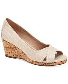 Toniie Wedge Sandals, Created for Macy's