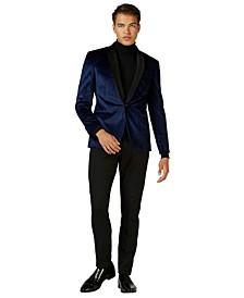 Deluxe Men's Deep Blue Dinner Jacket Christmas Blazer