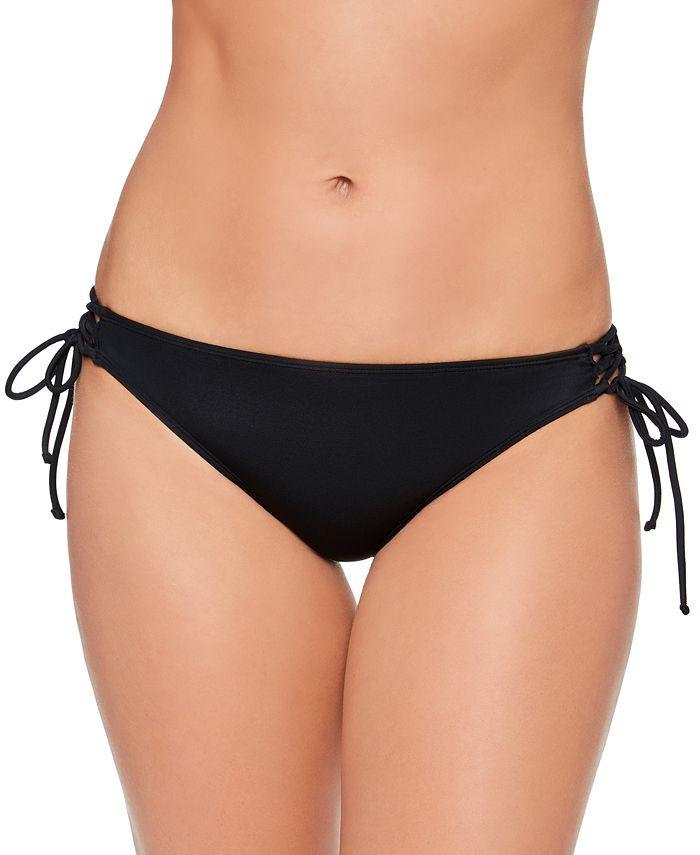 Salt + Cove - Juniors' Lace-Up Hipster Bikini Bottoms