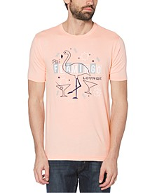 Men's Flamingo Lounge Graphic T-Shirt